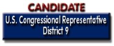 Candidate for U.S. Congress District 9